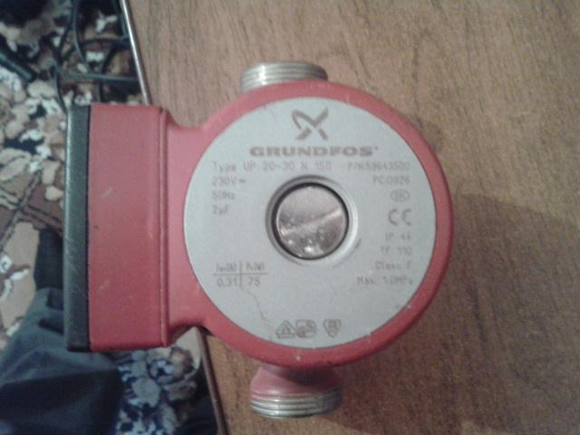 Циркуляционный насос Grundfos UP применяется для рециркуляции воды в системах ГВС